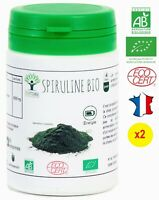 SPIRULINE BIO 120 COMPRIMES COMPLEMENT ALIMENTAIRE BIOPTIMAL PHYCOCYANINE BCAA