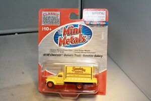 1941 Chevrolet Delivery Truck HO Scale Mini Metals Mint in Packaging Free Ship