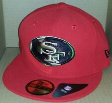 NWT NEW ERA San Francisco 49ers 59FIFTY size 7 1/4 fitted nfl cap hat football