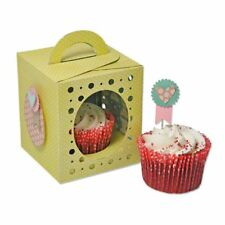 Sizzix Thinlits Scatola Cupcake PLUS Die Set 660842