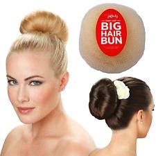 Hair-so? Massive 6 Inches Wide Big Hair Bun Extra Large Hair Doughnut (Blonde)