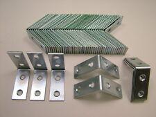 Right angle L bracket corner brace 40x16mm fixing support bracket, pack of 50