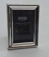 """Mini Photo Frame Picture Silver Metal Fits 2""""x3"""" Gift New"""