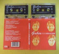 BOX 2 MC GIORGIO GABER Studio collection 2001 holland EMI no cd lp dvd vhs
