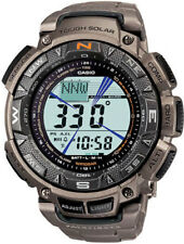 Casio Triple Sensor Solar Pathfinder Titanium Mens Watch PAG240T-7
