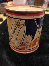 Vintage Morrison & Co. Promotional Toronto Litho Bank Tin