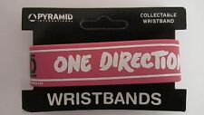 One Direction Pink Rubber Wristband New Freepost