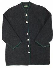 Giesswein 42 100% Wool Coat Charcoal Gray Unlined