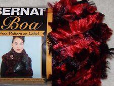 Bernat Boa Yarn Cardinal 459838 Spinrite