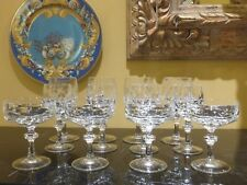GORHAM CRYSTAL ALEXANDRA 12PC SERVING FOR 4 - STUNNING AND UNIQUE!