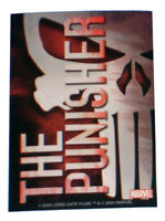 Punisher Skull Marvel Comics LGF Promotional Vinyl Sticker Lions Gate Films 2004