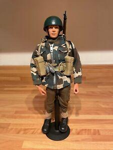 vintage action man kitbash paratrooper