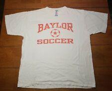 Vintage Baylor University Bears Soccer Adidas T-Shirt Large 1980's