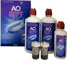 AOSept Plus 2x360ml Peroxyd Pflegemittel + 1x 90ml gratis (100ml=4,16€)