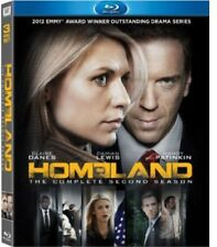 HOMELAND:THE COMPLETE SECOND SEASON 2 BluRay Brand New Fast Ship!(HMV-177/HMV-29