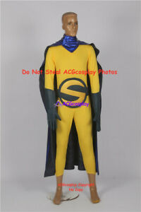 The Sentry cosplay costume include gloves and big belt buckle acgcosplay costume