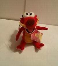 "MUSHU 6"" PLUSH DOLL Mulan NO SOUND Disney Store Bean Bag"