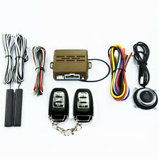 Car Auto SUV Alarm System Security Keyless Entry Push Button Remote Engine Set