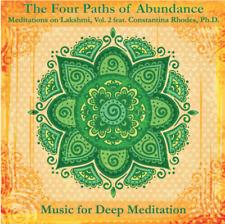 The Four Paths of Abundance Constantina Rhodes Ph.D Meditation CD