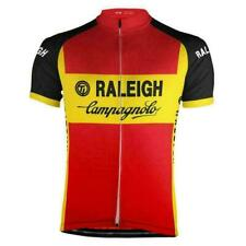 Team 1980 TI Raleigh Campagnolo Cycling Jersey Short Sleeve Gear Retro Bike