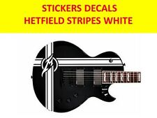 HETFIELD STRIPES METALLICA STICKERS WHITE VISIT OUR STORE WITH MANY MORE MODELS
