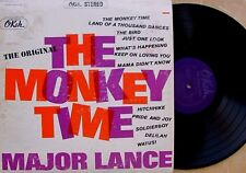 "MAJOR LANCE~""THE MONKEY TIME"" ORIG.OKEH ""STEREO~VG+""~LP"