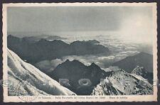 VERCELLI VALSESIA 81 CORNO BIANCO - MONTAGNA Cartolina viaggiata 1948