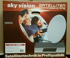 sky vision E0055 Satellitenschüssel - Reflektor 59x53cmEmpfangssystem NEU