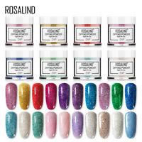 Rosalind Nail Acrylic Dipping Powder 10ml 37 Colors and Kits Buy 3 Get 2 Free