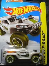 Hot Wheels Land Crusher white  MOMC NEW
