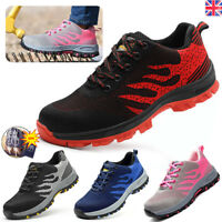 Womens Ultra Lightweight Steel Toe Cap Work Safety Shoes  Ladies Boots Trainers