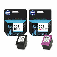 Original HP 304 Black & Colour Ink Cartridges For ENVY 5020 Inkjet Printers