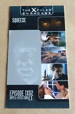 TOPPS THE X-FILES SHOWCASE WIDEVISION X-EFFECT CHASE CARD; E3 / SQUEEZE