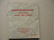 Reiseführer für deutsche Soldaten Westfrankreich Seine Loire 1940 Westfeldzug