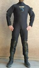 Apollo Dry Suit Drysuit Scuba Diving Made In Japan M Medium