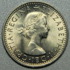 1967 Great Britian Six Pence BU-Lot 4