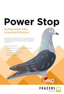 Frazers Power Stop YBS 300g Racing Pigeon Poultry