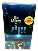 The Making of the Abyss (VHS, 1990) OOP Platinum Disc Corp. Rare - NEW SEALED
