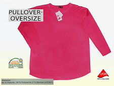 Pull pour femmes pull pullover extra-large saumon gr. L viscose Neuf