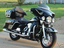 "6"" Dark Smoke  Windshield, Harley, Bagger, TOURING, Electra Glide, Ultra Classic"