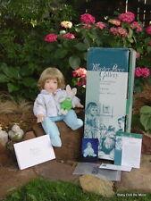 Retired Masterpiece Felt Boy Doll ~ Chris ~ by Debbie Richmond with Box