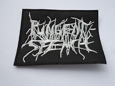 PUNGENT STENCH EMBROIDERED LOGO DEATH METAL PATCH