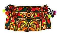 Handmade Thai Hmong Tribal Ethnic Embroidered Tote Shoulder Bag Handbag Purse B2