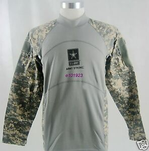 New Combat Shirt ACU Color Size Small for Airsoft