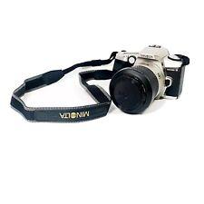 MINT- MINOLTA MAXXUM 5 AF 35mm SLR w/28-100mm F3.5-5.6D ZOOM, HOOD, STRAP, NICE