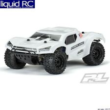 Pro-Line 3498-15 Pre-Cut Monster Fusion Bash Armor Body (White) Slash 2.8 MT