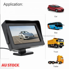 """4.3"""" LCD Dashboard Monitor Car Security Reversing Foldable Screen Rear View VCR"""