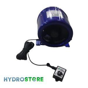 """Hydrolab 5"""" Hyper Fan - EC Inline Acoustic Fan. 125mm"""