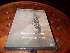 TANGERINE DREAM live in america 1992 (2004) Cd + Dvd ..... New