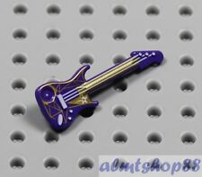 LEGO - Purple Electric Guitar Minifigure - Rock Star Band Instrument Friends